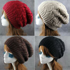 Sales Winter New Fashion Unisex Warm Knit Baggy Beanie Hat Ski Slouchy Cap Skull