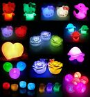 LED 7 Colors Changing Night Light Lamp Kids Gift Bedroom Party Decoration Candle