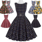 Vintage 16 Styles Rockabilly Swing 50's FIFTIES Circle Pinup TEA Housewife Dress
