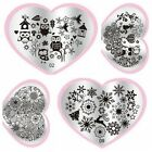 Stamping Nail Art Steel Konad Plates Stamp Manicure Owl DIY Template Nail Tools