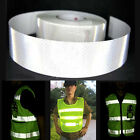 Silver White Reflective Safety Warning Tape Conspicuity Film Sticker 3/10/50M