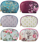 TaylorHe Make-up Bag Cosmetic Case Toiletry Bag Printed PVC Zipped Top Curved
