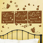 Live Love Laugh House Art Wall Quotes / Wall Stickers / Wall Decal / Wall Mural