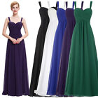 Long Formal Prom Dress Evening Gowns Party Bridesmaid Masquerade Wedding Dresses