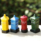 Retro Ornament Post Postbox Fairy landscape Resin Craft Mini Garden Decoration