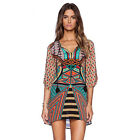 Bohemian Ethnic Long Coat women Maxi Dress 2016 summer Casual beach wear