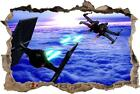 Star Wars Battle Ships Smashed Wall Decal Removable Wall Sticker Fighters H212