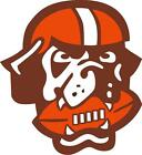 Cleveland Browns vehicle window or hard surface decal (LAMINATED)