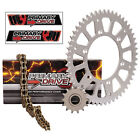 NEW X Ring Gold Chain and Sprocket Kit Aluminum Kawasaki KX250 1999–2001