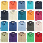 Boys Dress Shirt Solid Long Sleeve Formal Kids Wedding Party Boy Size 5 -18 New