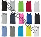 American Apparel - Unisex Tank Tops, Size XS-L XL, 50/50 Poly Cotton T-Shirt Tee