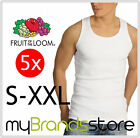 PACK DE 5 CAMISETAS DE TIRANTES · FRUIT OF THE LOOM® · TALLA · S· M· L· XL· XXL