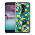 For ZTE DUO MAX Liquid Glitter Quicksand Hard Case Phone Cover Accessory