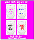 YOUR TEXT HERE Sleeveless BABY GROW ONE PIECE VEST ≈ PERSONALISED ≈ babygrow gro