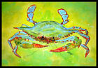 Caroline's Treasures Bright Green Crab Doormat
