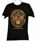 Sublime T-shirt Ska Punk Band Graphic Tee Black Preshrunk NWT image