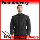 RST ALPHA IV 1726 Black HIP LENGTH WATERPROOF CE ARMOURED MOTORCYCLE JACKET