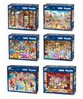 Disney Disneyland 1000 piece Jigsaw Puzzles assorted Designs by King New Boxed