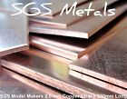 COPPER 2.5 mm Sheet Metal for Model Makers & Hobbyist Precision Guillotine Cut