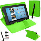 """Universal Folding Folio Leather Flip Stand Case Cover For Android Tablet PC 7"""""""