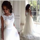 New Arrival Lace Tulle wedding gown, V back, UK tailor made, all sizes