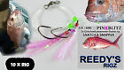 10 Surf Rig Fishing Rigs Pre Tied On A Paternoster Circle Bait Tied Rig
