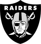 Oakland Raiders wall decal (made with PHOTOTEX)not low end vinyl