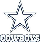 Dallas Cowboys wall decal (made with PHOTOTEX)not low end vinyl