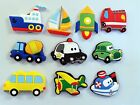 KAILIZ Cartoon Car Vehicle Play Set Kids Soft Fridge Magnet Educational Toys UK