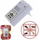 Electronic Ultrasonic Pest Repellent Repelling Aid FOR RODENTS, ROACHES, ANTS -a