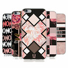 HEAD CASE DESIGNS BLACK & PINK SOFT GEL CASE FOR APPLE iPHONE PHONES