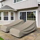 Budge Industries English Garden Outdoor Chaise Lounge Cover