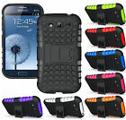 TPU Silicone Rubber with Kickstand Case Cover for Apple iPhone Samsung Galaxy
