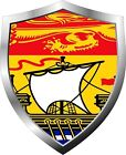 New Brunswick Flag Shield Decal / Sticker