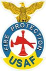 US Air Force USAFFire Protection Decal / Sticker