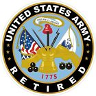 U.S. Army Retired Decal / Sticker