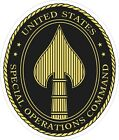 United States Special Operations Command Decal / Sticker