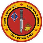 USMC Marine Corps 3rd Battalion 7th Marine Regiment Decal / Sticker