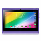 "iRULU Tablet PC 7"" Android 4.4 Dual Cameras Quad Core Pad WIFI with Keyboard US"