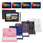 """iRULU  7"""" Android 6.0 Tablet PC 8G Dual Camera Quad Core Pad WIFI with Keyboard"""