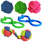 Dog Rope Tug with Bone 7/9cm Heavy Duty Rope Ball Pet Exercise Training Play Toy