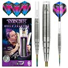 PETER WRIGHT SNAKEBITE DARTS SETS Red Dragon™ Dart Stems, Flights, Case,20-26g