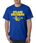 Splash Bros Golden State Warriors Mens T- Shirt 2015 NBA Champs! Curry Thompson on eBay