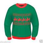 Ugly Christmas Sweater XRated Reindeer Sweater Ugly Christma Sweater Party 69538