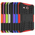 Rugged Stand Rubber Shockproof Hybrid Hard Case Cover For Samsung Tab 3 Lite 7.0