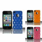 For iPhone 4/4s Bubble TPU Gel + PC Cover Case