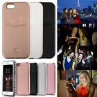 LED Flash Light UP Selfie Phone Practical lighting Case Cover F iPhone5 5s 6 6s
