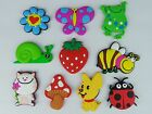 KAILIZ Soft Farm Animals Figures Garden Creatures Kids Fridge Magnets NEW STOCK