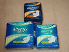ALWAYS MAXI PADS LONG SUPER WITHOUT WINGS, WITH WINGS, OVERNIGHT NEW *CHOOSE*
