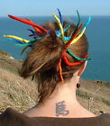 FAIR TRADE FELT HAARE HAARGUMMI HIPPY BOHO DREADLOCKS - 14 WULSTIG KNOTEN